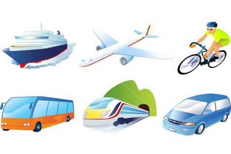 التنقلات والسفر بين الدول والمدن